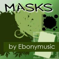 Masks for collages and photos by Ebonymusic