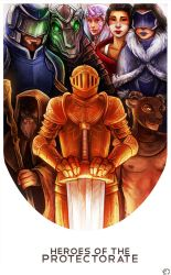 Heroes of the Protectorate by lonsheep