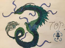 Tornado the sea serpent! by xXXThunderstormXXx