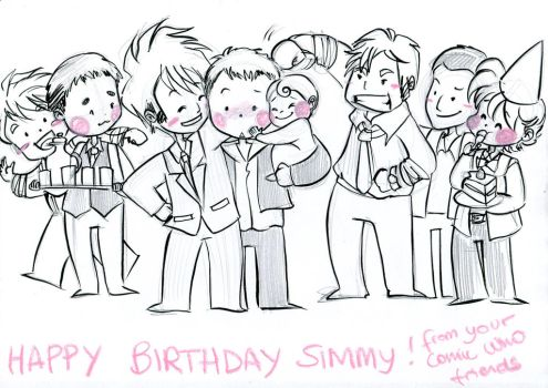 Happy birthday Simmy by elisamoriconi