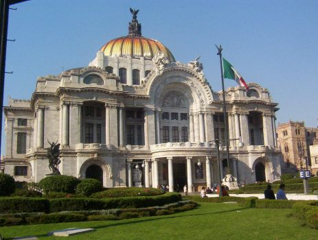 Bellas Artes Mexico 1 by Alexpintor