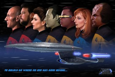 To Boldly Go Where No One has Gone Before by mattleese87