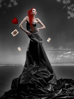 Queen of Hearts by AnneFlanders