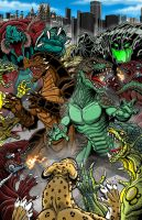 Crossover Cover Complete by kaijuverse