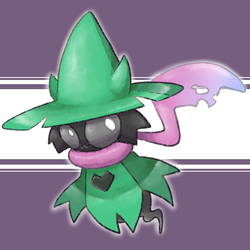 Ralsei The Ghost Pokemans by thegreatrouge
