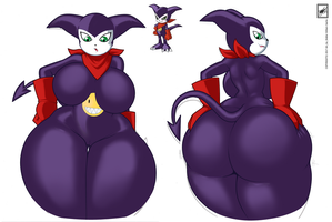 Thicc Impmon #2_near completion by wsache2020
