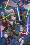 Ignise's Jedi Team by JericaWinters