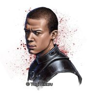 Grey Worm the commander of the Unsullied by yagihikaru