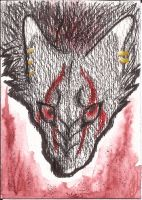 ACEO :Marks of the Red Moon: by LunaDarasu