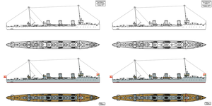 1600ton Destroyer Leader Design by Tzoli
