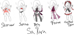 Sakura's outfits | Abnormal Phantom by emmbug124