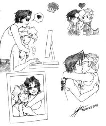 Marco and Tarma Doodles +YAOI+ by TheSweetPsychopath