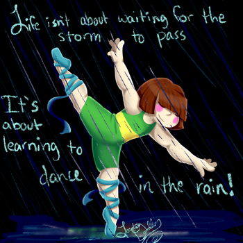 Dancing in the Rain by SilverScarlet99