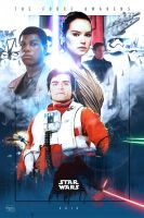 Star Wars Episode VII: The Force Awakens by KanomBRAVO