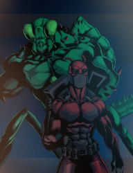 Ant and Mantis by shaneoid77