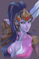 Widowmaker by Vega-graphics