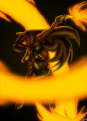 Flaming Spiral by Toughset
