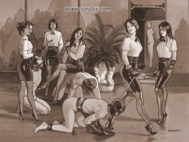 Our femdom world 4 by Menkillers