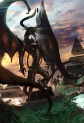Nicol Bolas by d1eselx