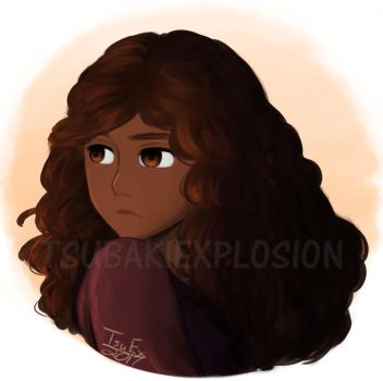 Hermione Painting Attempt by TsuEx
