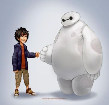 Big Hero 6 by instantmiso