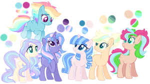 Pone adopts/CLOSED by Marty-Draws