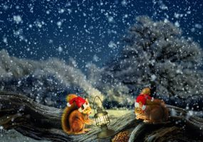 Christmas Dinner by ditney