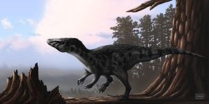 Murusraptor barrosaensis by MicrocosmicEcology