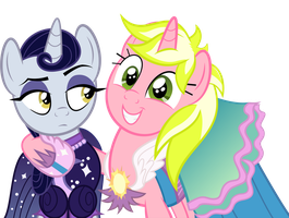 We're Pretty as Princesses by SpellboundCanvas