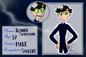 [MS] Leonard Sebastian by icecreampizzer