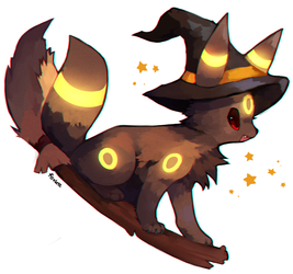 Umbreon by foxlett