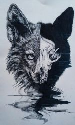 Morbid Wolf by Rinstail