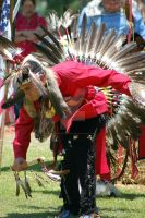 Pow Wow 07 lead male dancer by CandyPoisonApple