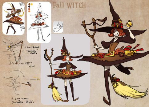 Fall Witch by ming85