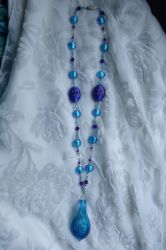 Peacock Necklace by Valley-of-Egeria