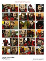 The 30 Faces of Hachiman by EMPAYAcomics