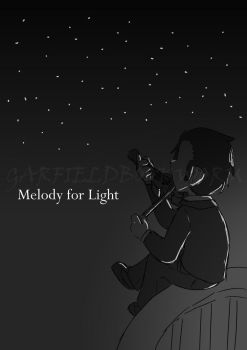 HTBAHB: Melody for Light by garfieldbookworm