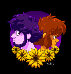 Orly and Zoe by TheNinjaArtist16