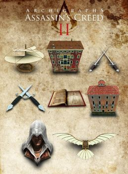 Archigraphs AC2 icons set by Cyberella74