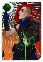 Dragon Age Tarot the World by dreNerd
