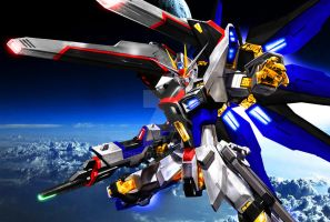 Strike Freedom [Ver. JeT Wallpaper II DxG-FF 2] by Chaos217