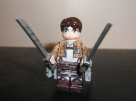 LEGO Attack on Titan: Eren Yeager by TommySkywalker11