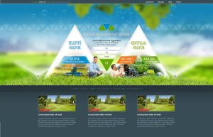 Web design - Irrigation by VictoryDesign