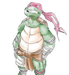 Raphael is cool but rude! by warota