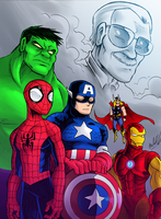 Stan Lee Tribute by OUTCASTComix