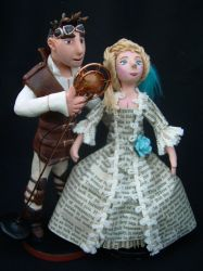 Captain Robert and Lady by liselfwench