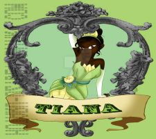 Pin up princess Tiana by Hotaru-oz