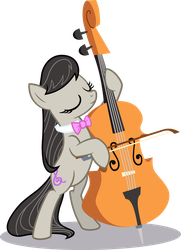 Octavia Plays Cello With Her Eyes Closed by MillennialDan