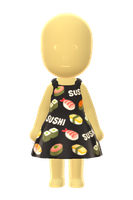 Sushi Dress by Rosemoji