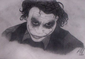 The Joker Finished by PennyWise3368